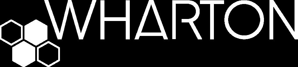 Wharton logo blanc sans BL